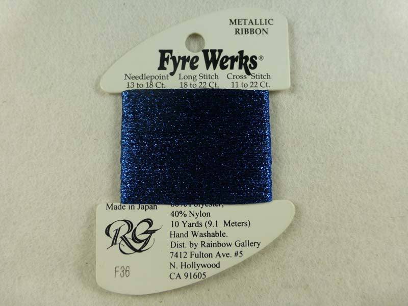 Fyre Werks F36 New Royal Blue