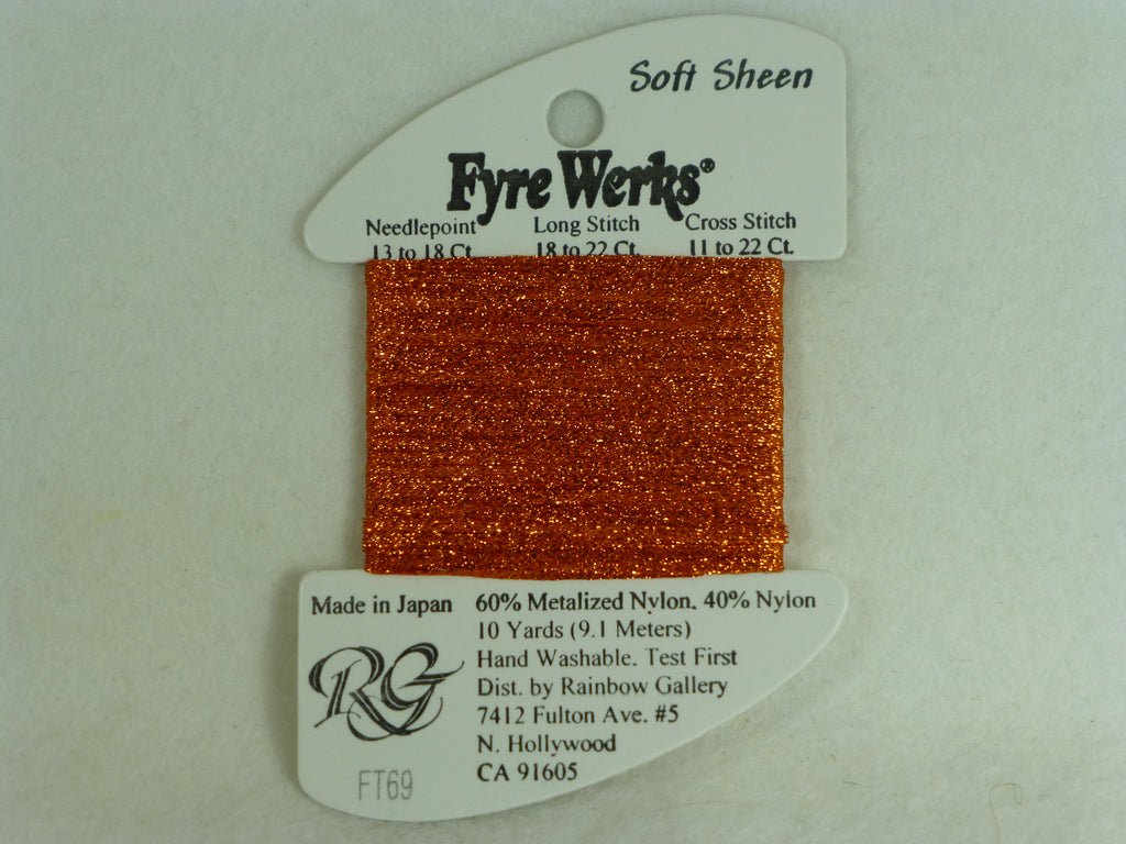 Fyre Werks FT69 Burnt Orange