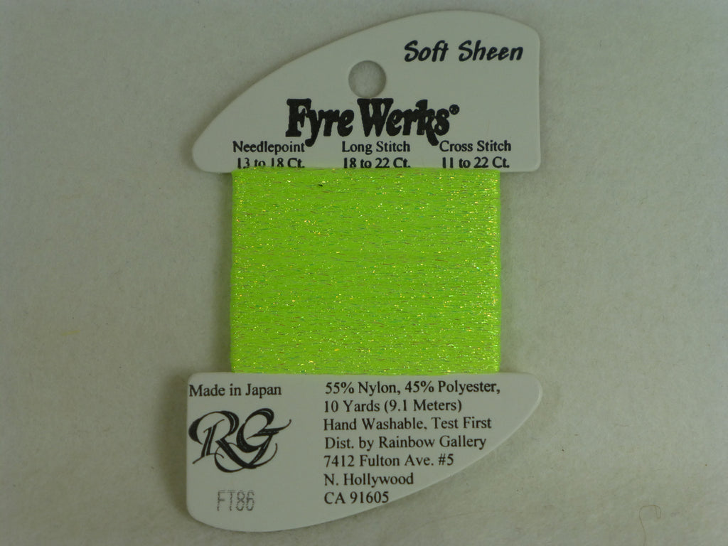 Fyre Werks FT86 Sharp Green