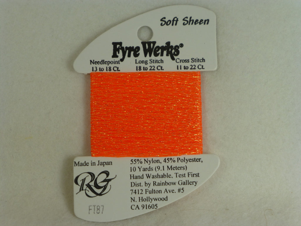 Fyre Werks FT87 Vibrant Orange