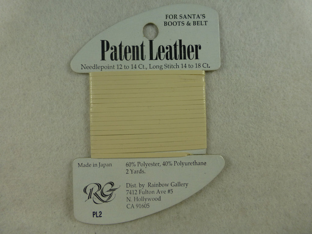 Patent Leather PL02 ivory