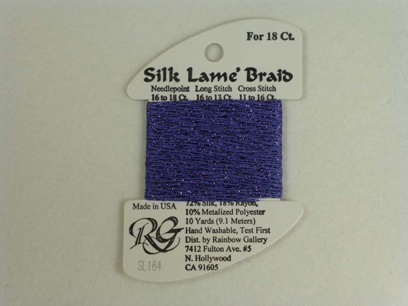Silk Lame Braid SL164 Wisteria