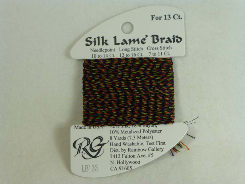 Silk Lame Braid LB133 Halloween