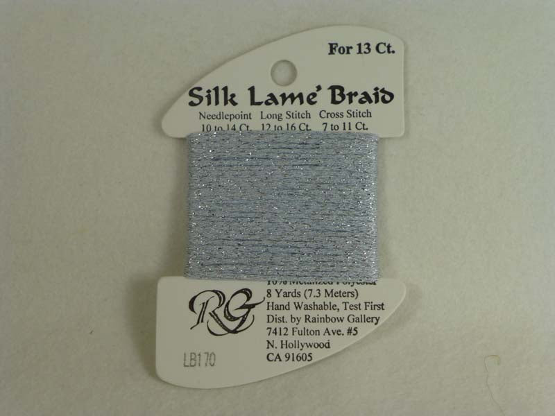 Silk Lame Braid LB170 Blue Fog