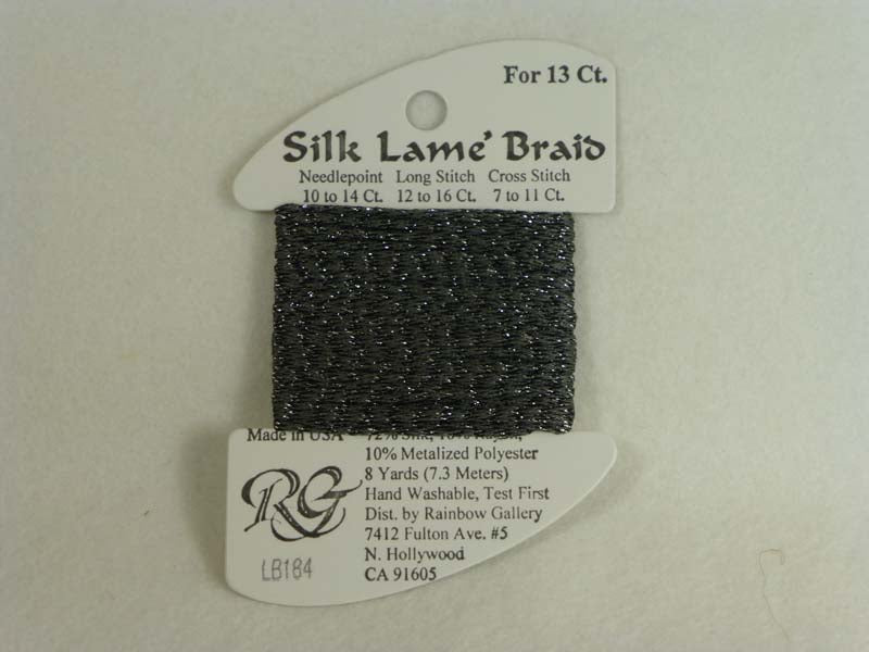Silk Lame Braid LB184 Pavement