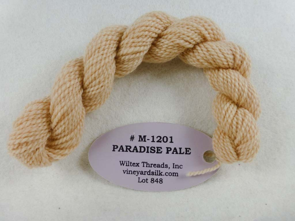 Vineyard Merino 1201 Paradise Pale by Wiltex Threads From Beehive Needle Arts