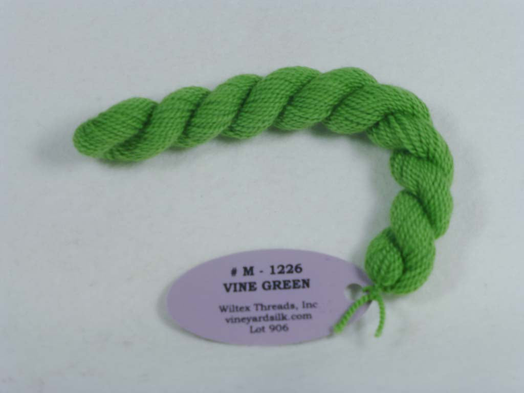 Vineyard Merino 1226 Vine Green by Wiltex Threads From Beehive Needle Arts