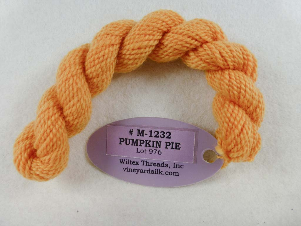 Vineyard Merino 1232 Pumpkin Pie by Wiltex Threads From Beehive Needle Arts