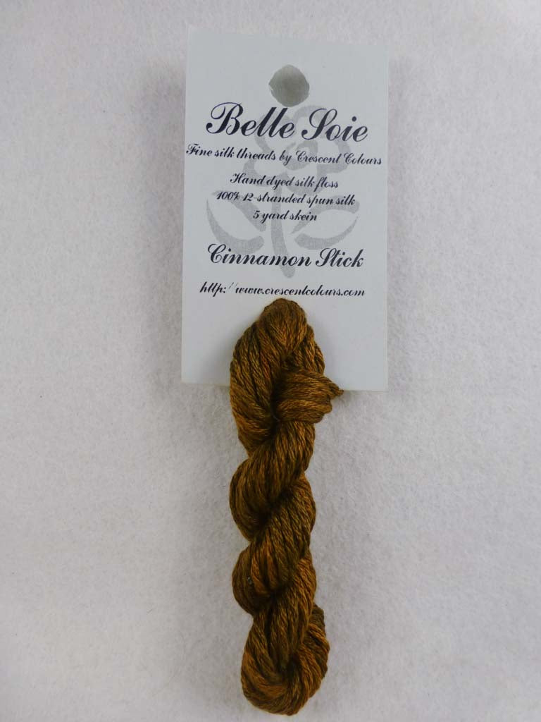 Belle Soie 006 Cinnamon Stick by Hoffman Distributing From Beehive Needle Arts