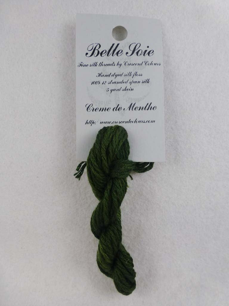 Belle Soie 008 Creme De Menthe by Hoffman Distributing From Beehive Needle Arts