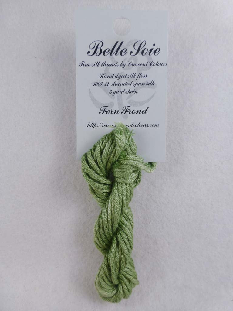 Belle Soie 010 Fern Frond by Hoffman Distributing From Beehive Needle Arts