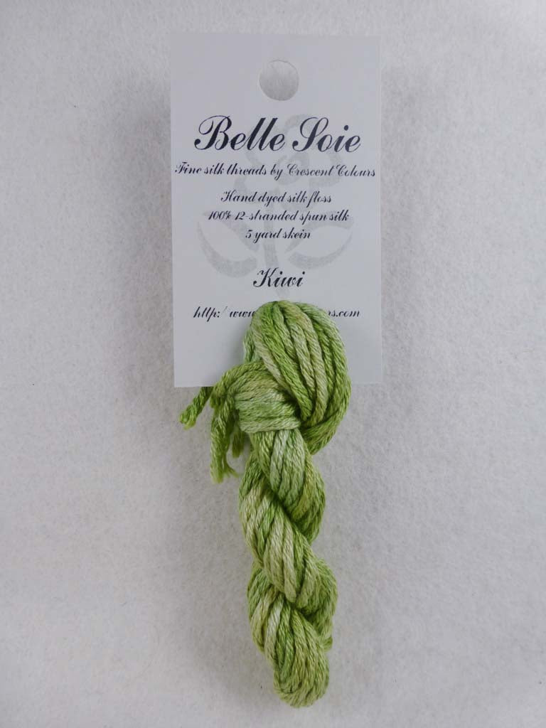 Belle Soie 012 Kiwi by Hoffman Distributing From Beehive Needle Arts