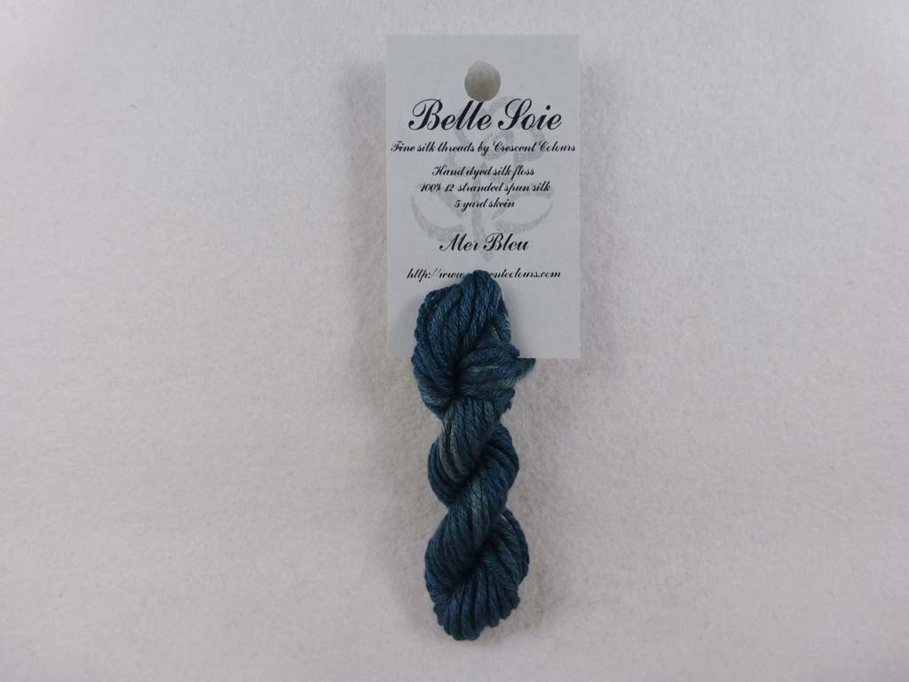 Belle Soie 015 Mer Bleu by Hoffman Distributing From Beehive Needle Arts