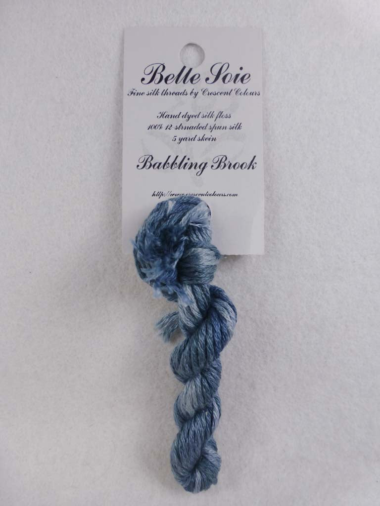Belle Soie 027 Babbling Brook by Hoffman Distributing From Beehive Needle Arts
