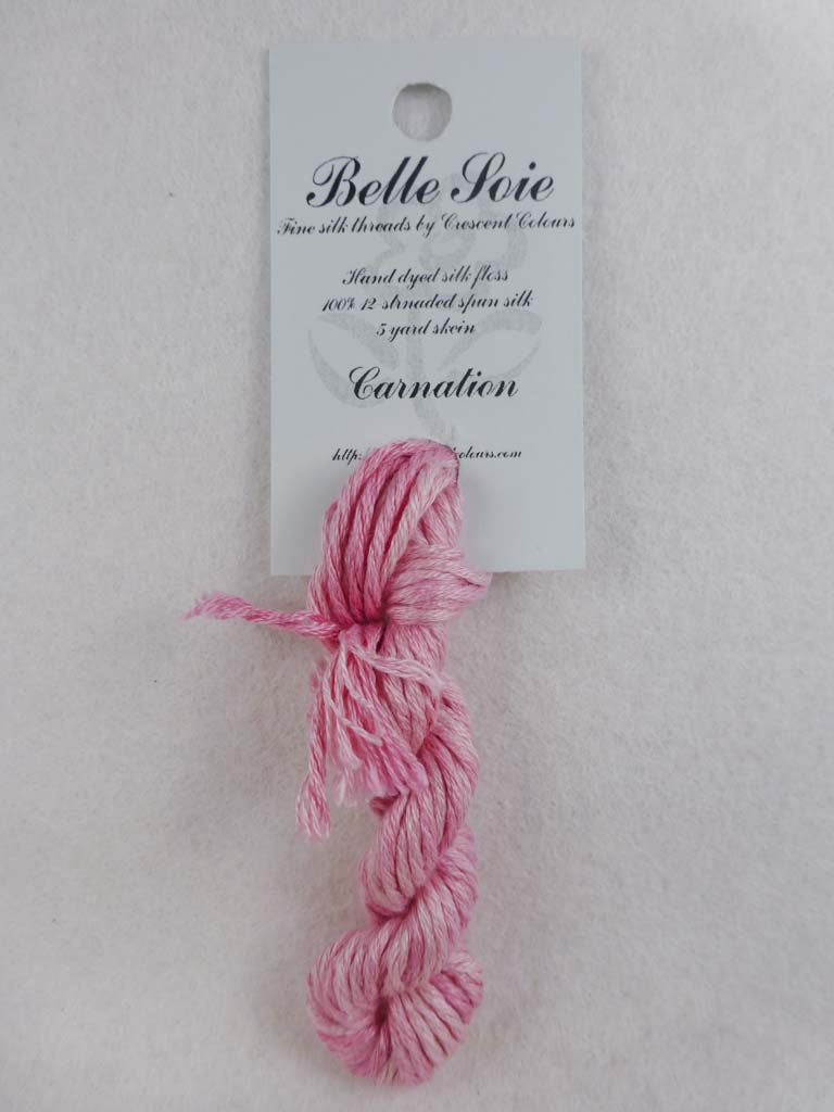 Belle Soie 031 Carnation by Hoffman Distributing From Beehive Needle Arts