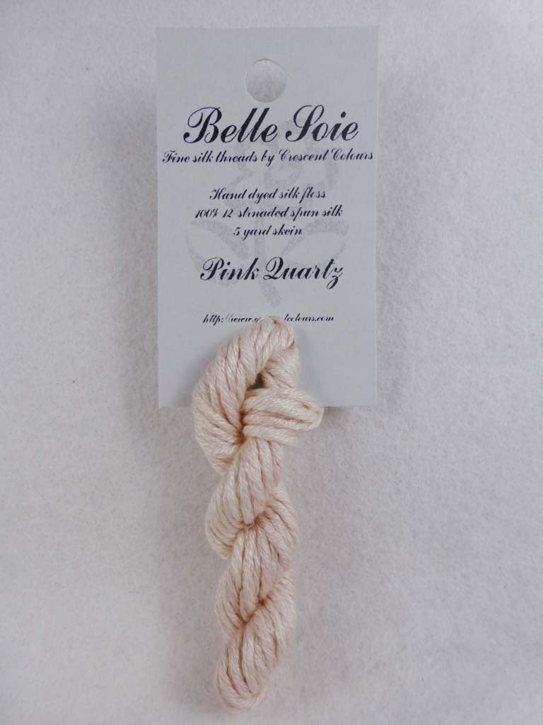 Belle Soie 044 Pink Quartz by Hoffman Distributing From Beehive Needle Arts