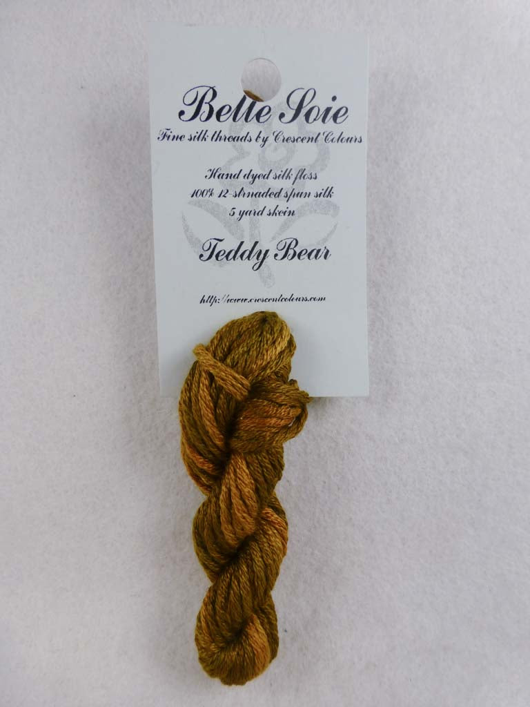 Belle Soie 050 Teddy Bear by Hoffman Distributing From Beehive Needle Arts