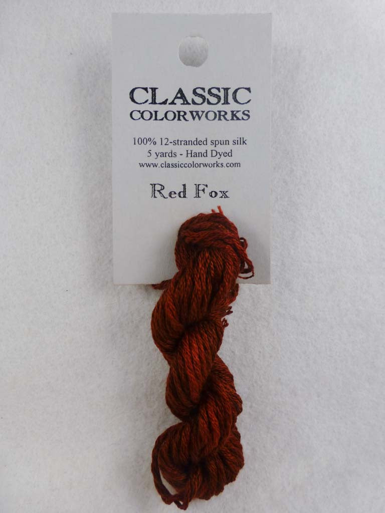 Belle Soie 059 Red Fox by Hoffman Distributing From Beehive Needle Arts