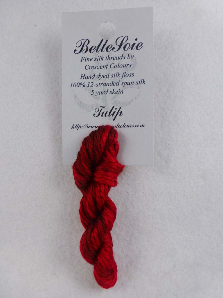Belle Soie 074 Tulip by Hoffman Distributing From Beehive Needle Arts