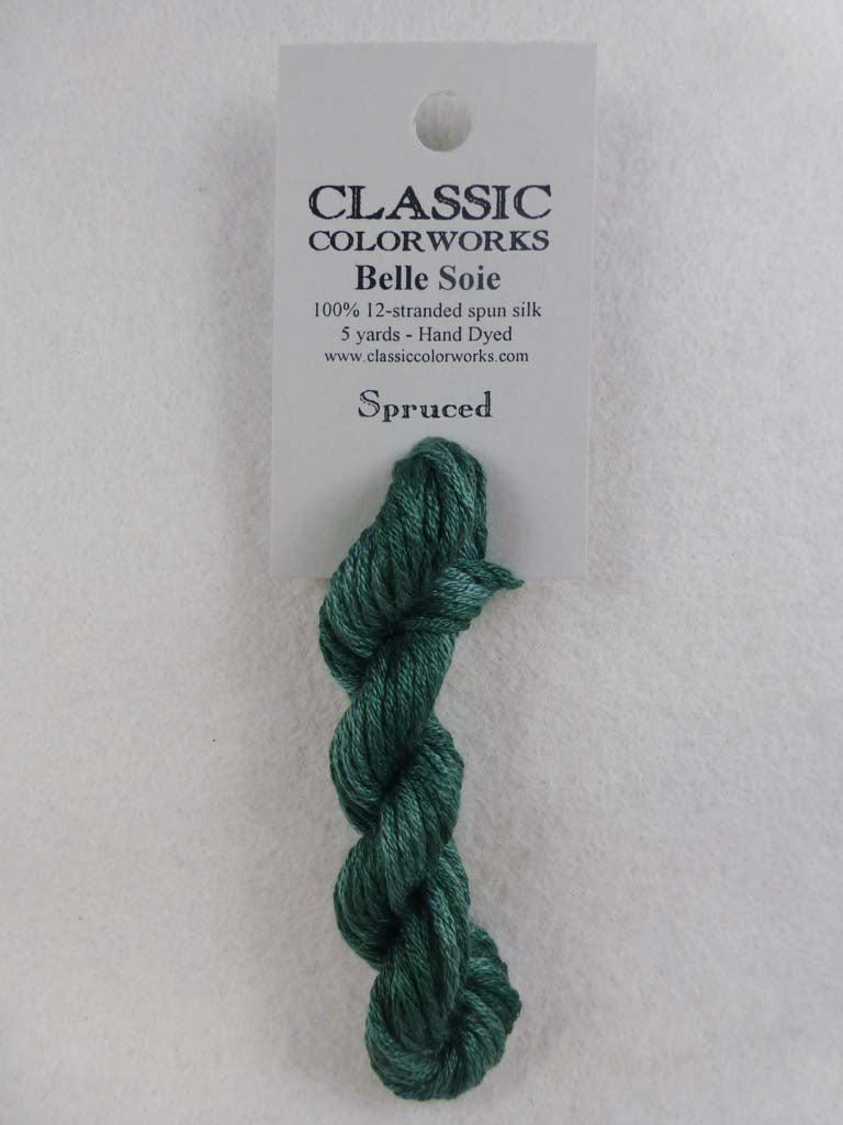Belle Soie 110 Spruced by Hoffman Distributing From Beehive Needle Arts