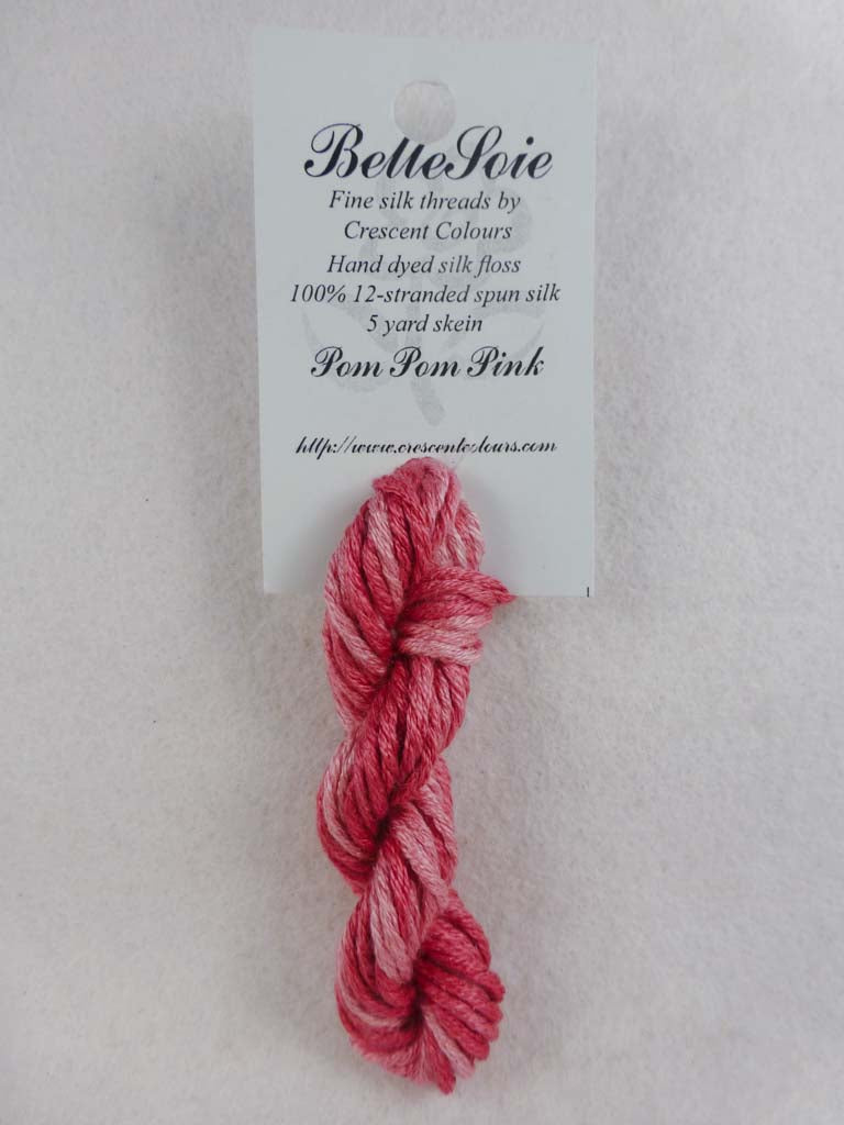 Belle Soie 115 Pom Pom Pink by Hoffman Distributing From Beehive Needle Arts