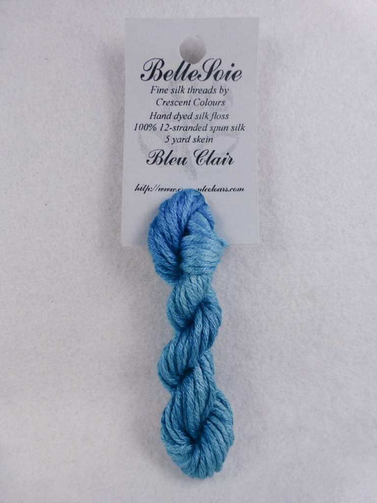 Belle Soie 118 Bleu Claire by Hoffman Distributing From Beehive Needle Arts