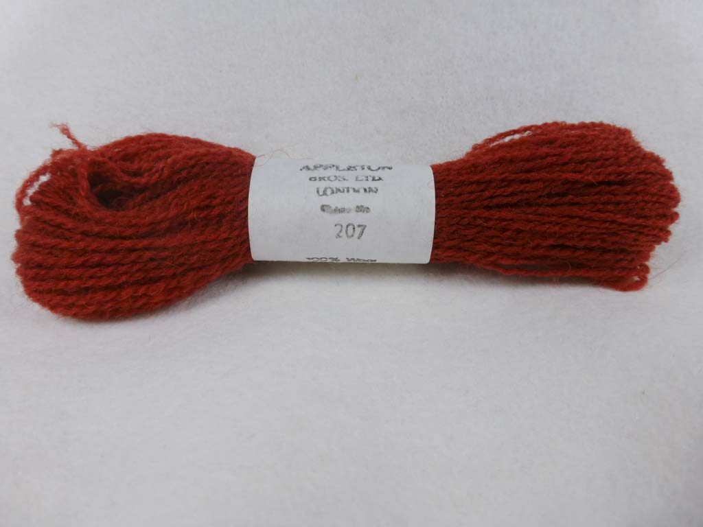 Appleton Wool 207 NC by Appleton  From Beehive Needle Arts