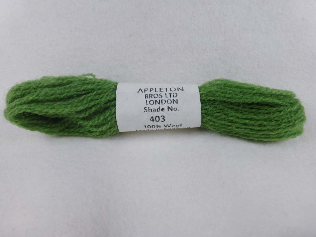 Appleton Wool 403 NC by Appleton  From Beehive Needle Arts