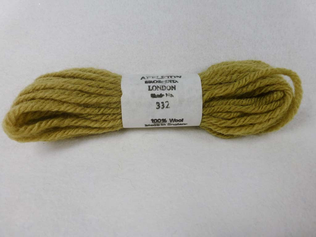 Appleton Wool T332 NC by Appleton  From Beehive Needle Arts
