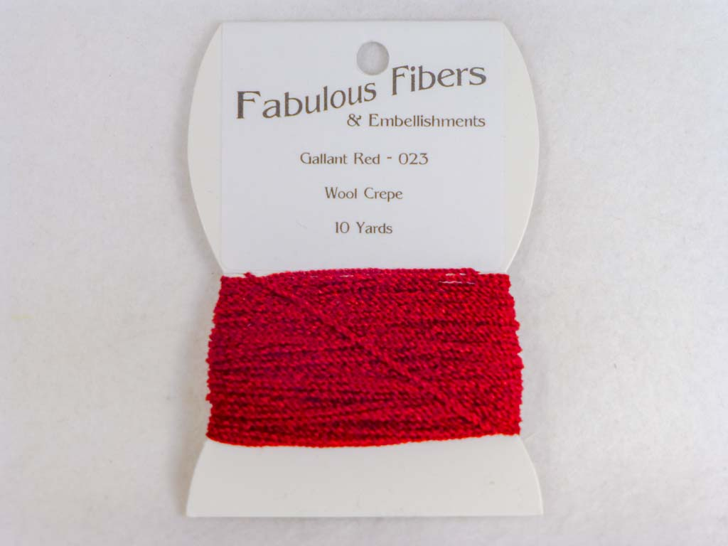 Wool Crepe 023 Gallant Red