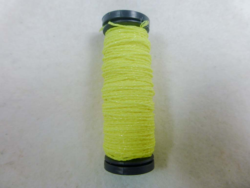 Med. #12 054F GITD Lemon-Lime by Kreinik From Beehive Needle Arts