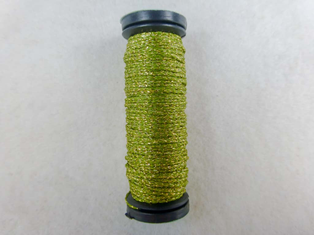 Med. #12 5835 Golden Olive by Kreinik From Beehive Needle Arts