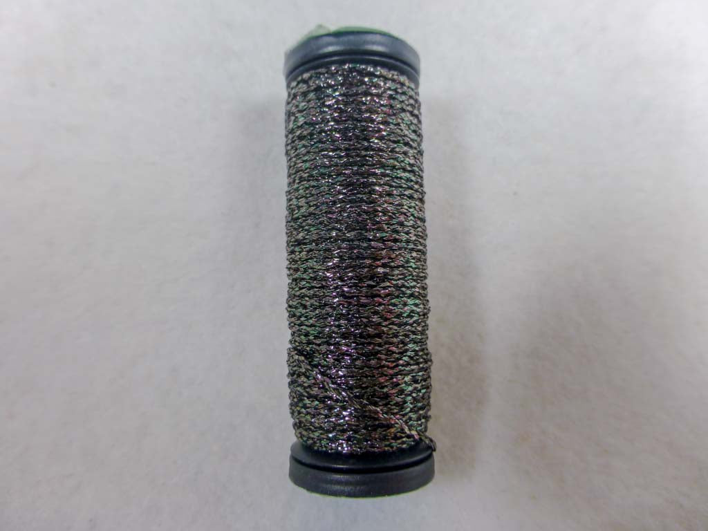 Med. #12 010HL Steel Grey High Lustre by Kreinik From Beehive Needle Arts