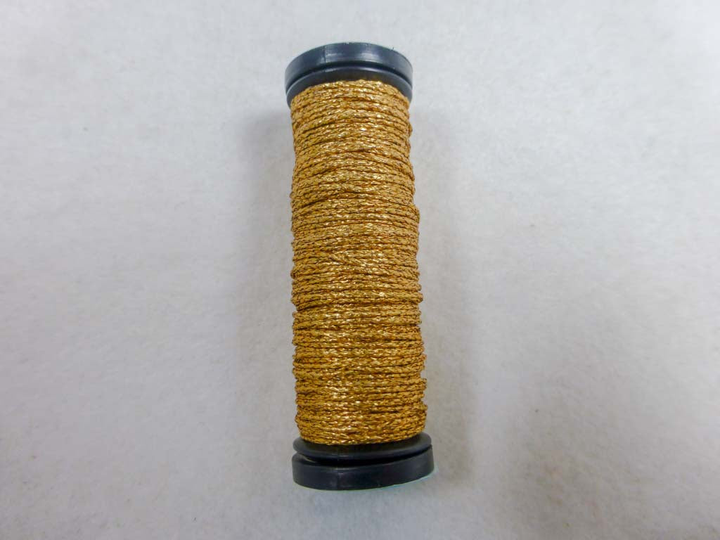 Med. #12 002V Vintage Gold by Kreinik From Beehive Needle Arts