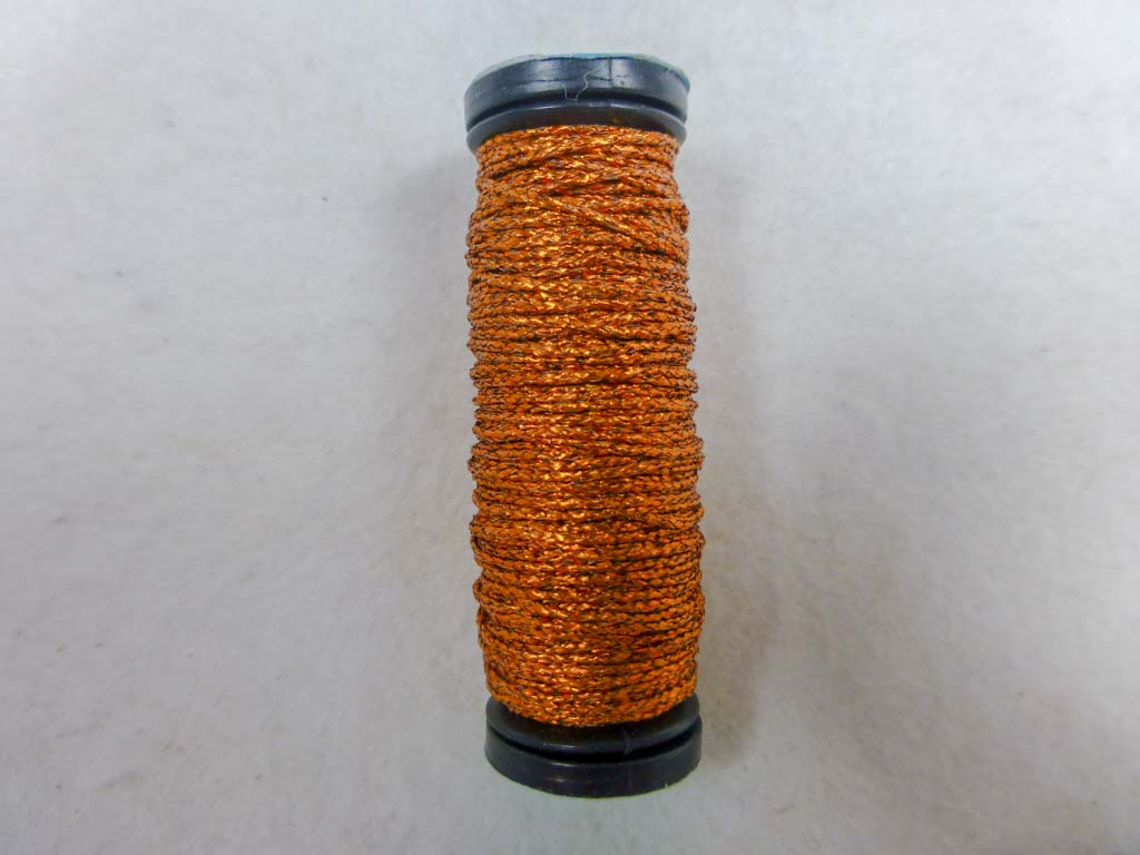 Med. #12 150V Vintage Amber by Kreinik From Beehive Needle Arts