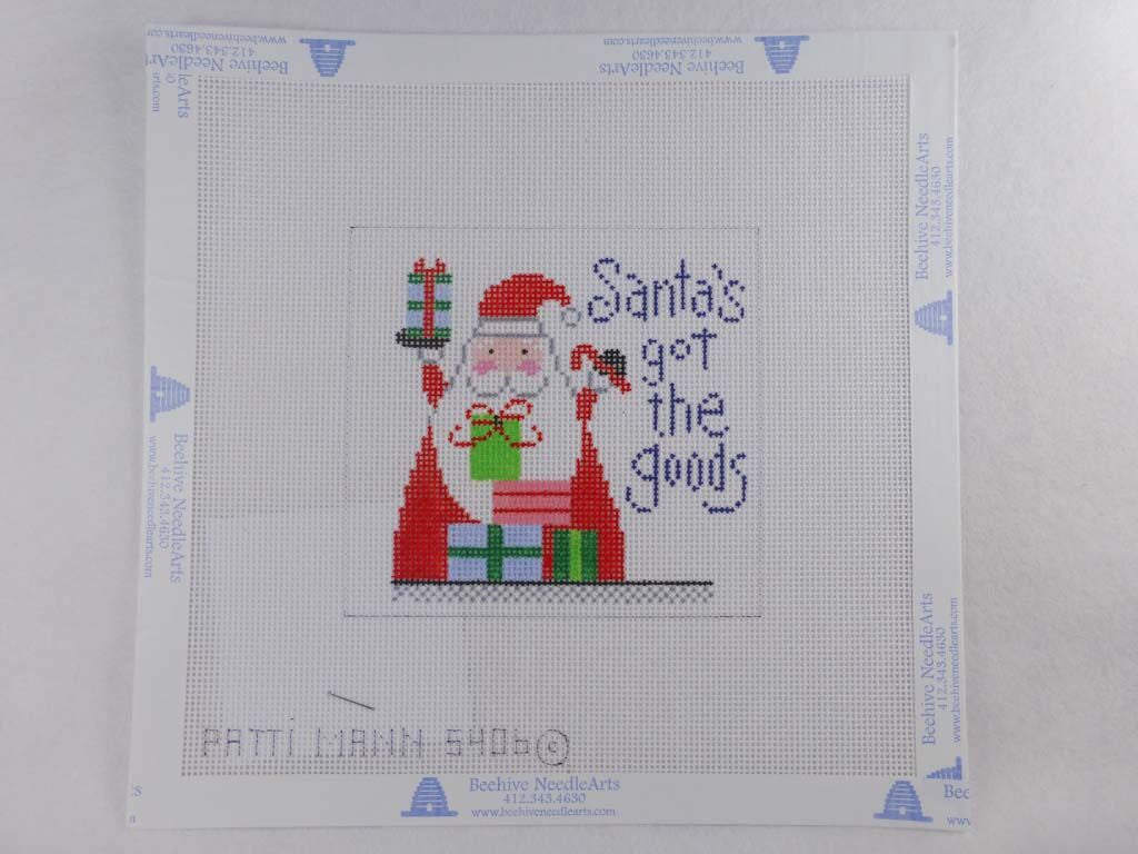 Patti Mann Designs 5406-LK Santa's Got Goods