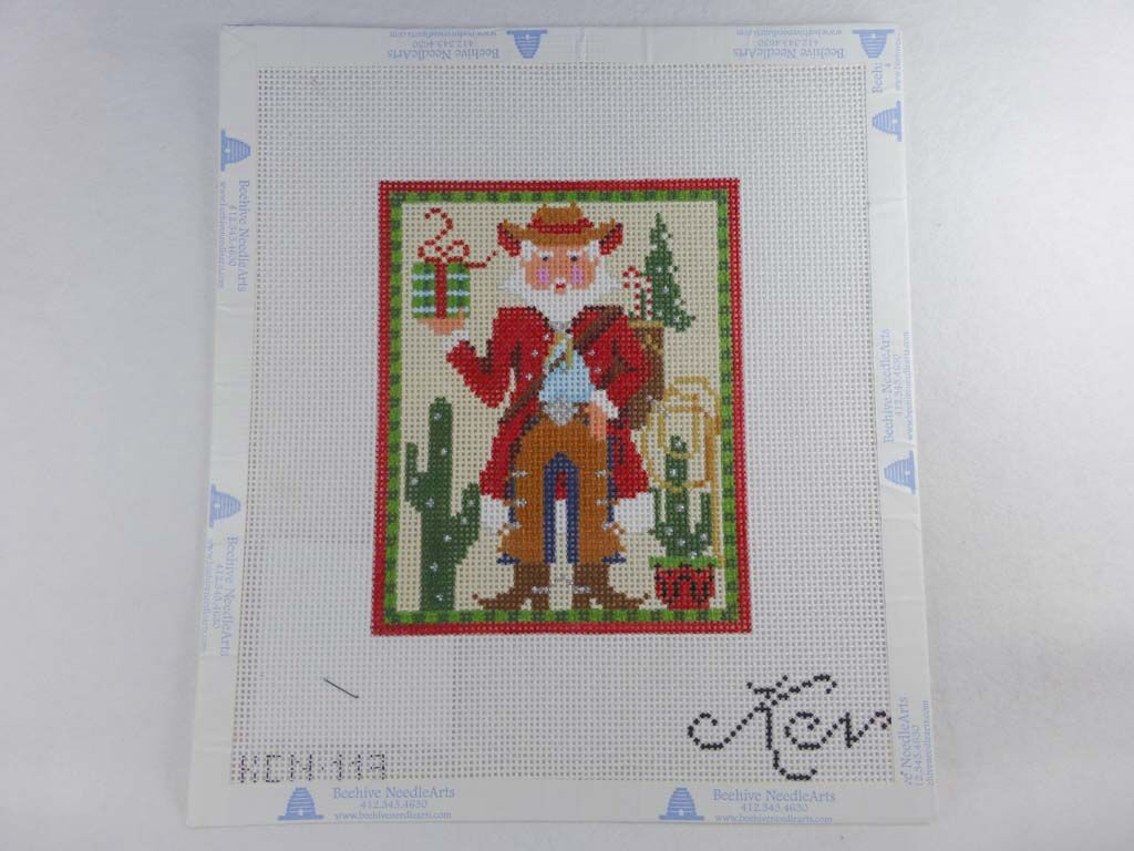 Kelly Clark Studio, LLC KCN 113 Cowboy Claus