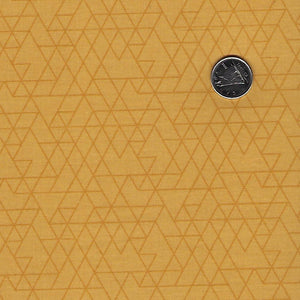 Rosewood by meags & me for Clothworks - Gold Tone on Tone Geometric