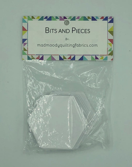 English Paper Piecing Hexagons - 2 Sizes