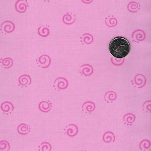 Lal the Lamb by Susybee - Pink Tone on Tone Swirls