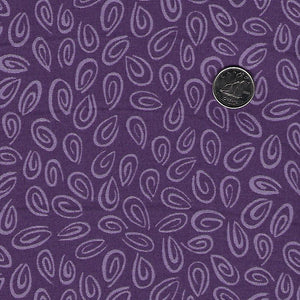 Barnyard Buddies par Susybee pour EE Schenck - Purple Tone on Tone Swirls