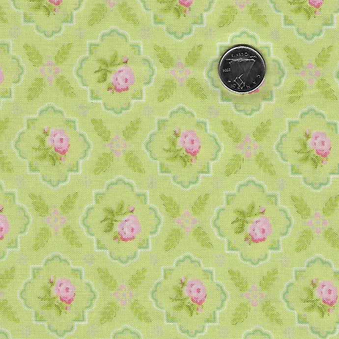 Finnegan by Brenda Riddle Designs for Moda Sprout Medallion Rose