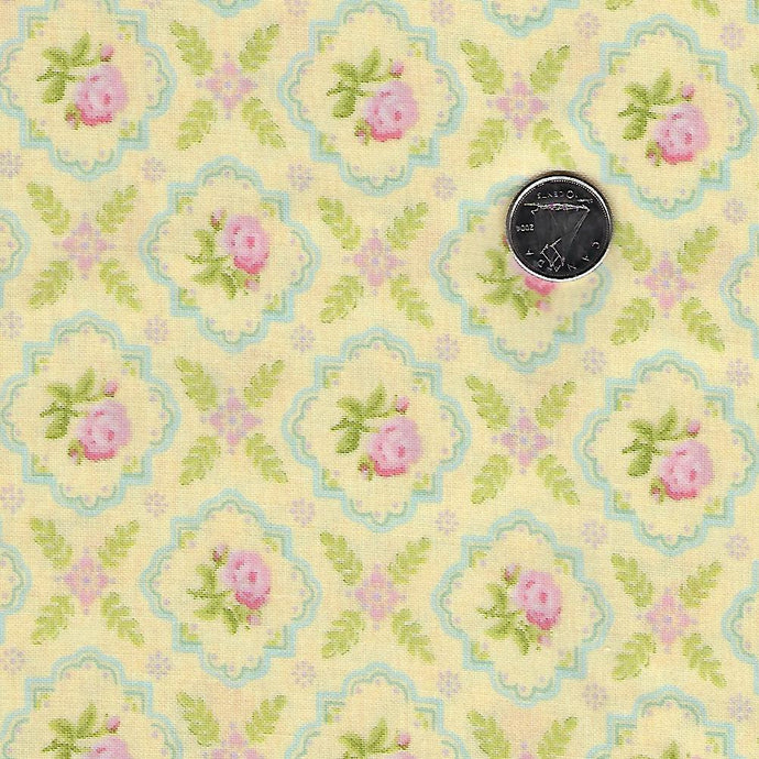 Finnegan by Brenda Riddle Designs for Moda Sunny Medallion Rose