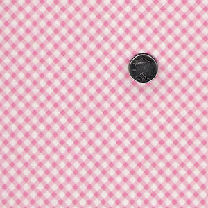 Finnegan by Brenda Riddle Designs for Moda - Pink Checkered
