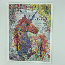 Load image into Gallery viewer, Nola... Unicorn Collage by Laura Heine