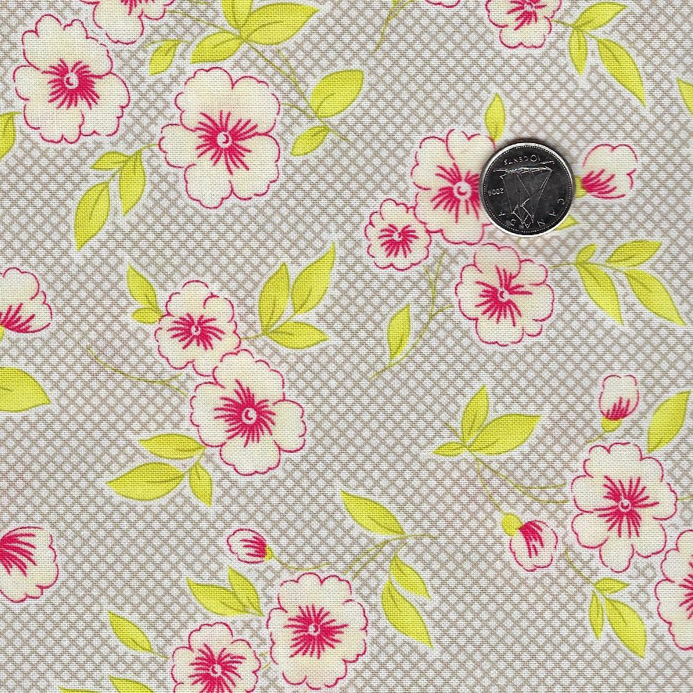 Figs & Shirtings par Fig Tree & Co pour Moda - Background Dusk Flour Sacs