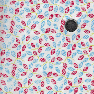 Figs & Shirtings par Fig Tree & Co pour Moda - Background Cornflower Grandma's Pajamas