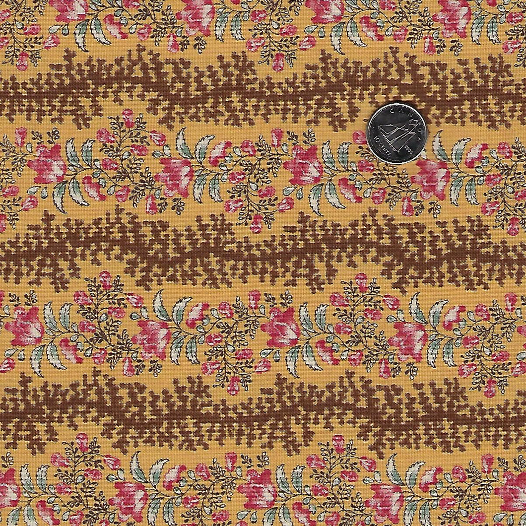 Sarah's Story 1830-1850 by Betsy Chutchian for Moda - Background Butter Bridle Path