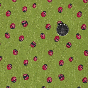 Solana by Robin Pickens for Moda - Background Sprout Ladybugs
