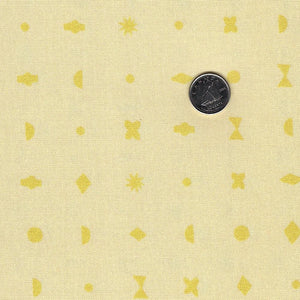 DIY by Amy Van Luijk for Figo Fabrics - Stamps Yellow